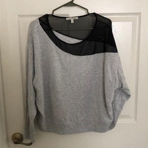 Express Mesh Insett Sweatshirt